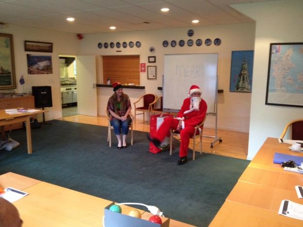Surprises from Santa